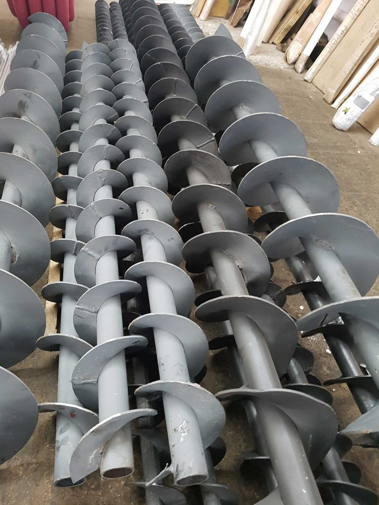 Изготовление шнеков от 100 до 400 мм. производительность ленточного конвейера