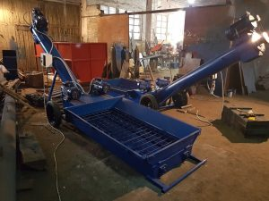 Оборудование для выгрузки из вагонов хопперов