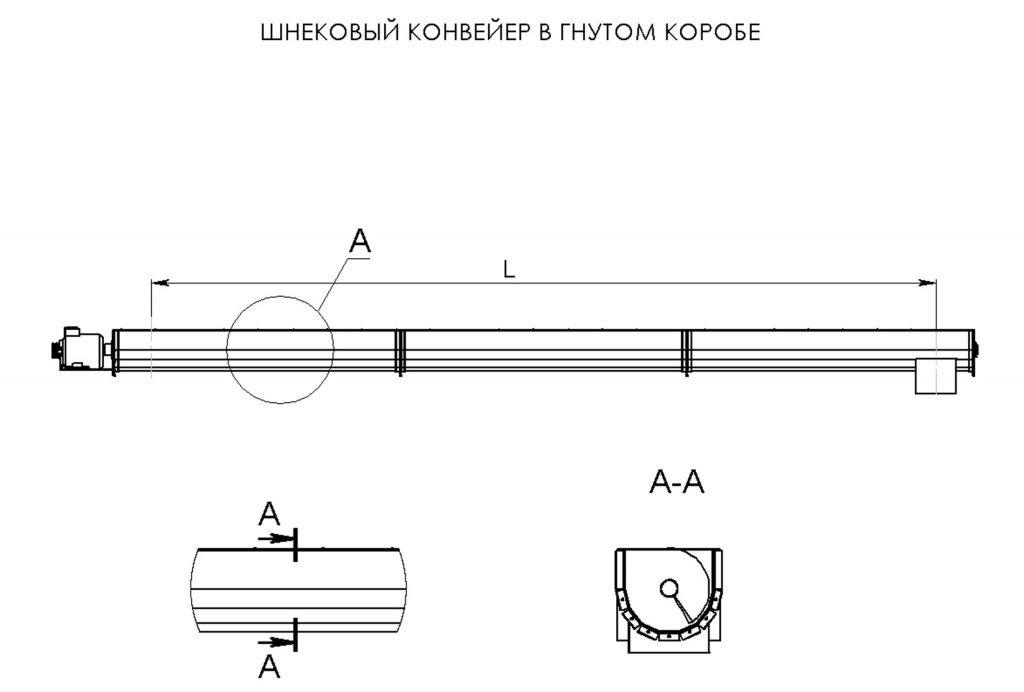 винтовой конвейер опросный лист