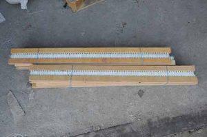 Щетка-планка к зерноочистительным машинам ОВС, ЗАВ: 950 мм, 920 мм, 670 мм